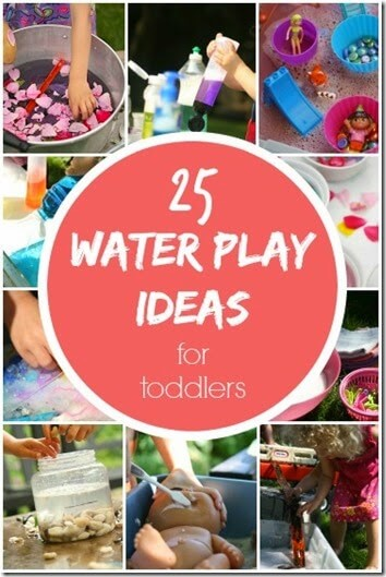 25 FUN Water Activities for Toddler, Preschool, and Kindergarten age kids to try this summer.