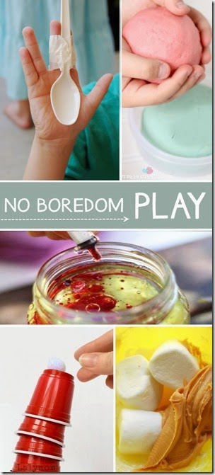 100 Kids Activities for the Bored Child! GREAT list with lots of new-to-me ideas. Use on rainy day or summer break with toddler, preschool, kindergarten, and elementary age kids.