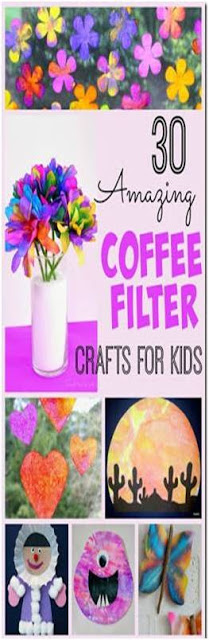 Amazing-Coffee-Filter-Crafts-For-Kids