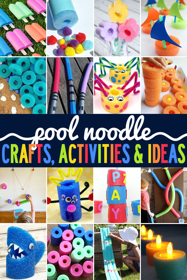 Get ready for summer with these super fun pool noodle crafts, epicpool noodle activities, plus lots of other fun pool noodle ideas. Everyone will love these fun summer activities using pool noodles, with lots of creative, fun ways for you and your kids to enjoy summer, and create memories together. Try these with toddler, preschool, pre-k, kindergarten, first grade, 2nd grade, 3rd grade, 4th grade, 5th grad,e and 6th graders.