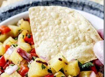 Grilled Pineapple Salsa Recipe