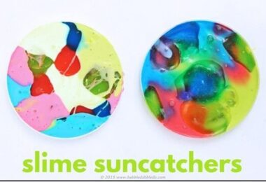 Slime Suncatcher Kids Activity