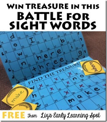 graphic about Sight Word Games Printable identify Fight for Sight Term Online games 123 Homeschool 4 Me
