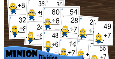 Minion-Division-Flashcards