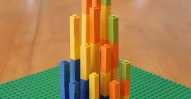 LEGO Multiplication Math Activity