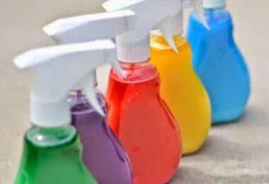 Washable Spray Paint Recipe