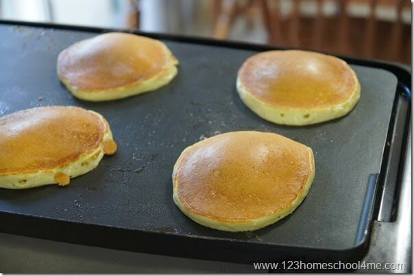 golden brown pancake recipe