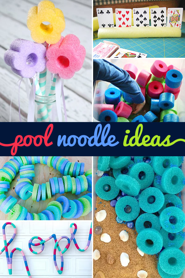 pool noodle activities