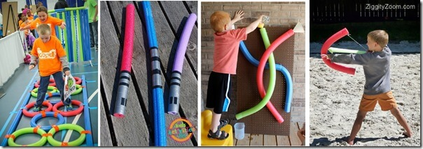 pool noodle kids activities