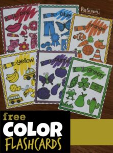 Shape Flashcards for Toddlers