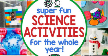 Looking for fun, engaging, and easy science experiments for toddler, preschool, pre-k, kindergarten, first grade, 2nd grade, 3rd grade, 4th grade, 5th grade, 6th grade, and elementary age students? You will love these good science experiments to try all year round. We have lots of fun projects to do at home for every season! From fall science experiments to winter science, summer experiments to spring science - we have a whole year's worth of homeschool science to help children study everything from chemistry, physics, biology, and more! Plus thescience activities for kids are super CUTE, simple, and engaging too!