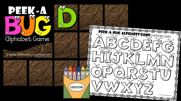 Capital Alphabet Letter Recognition Preschool Game