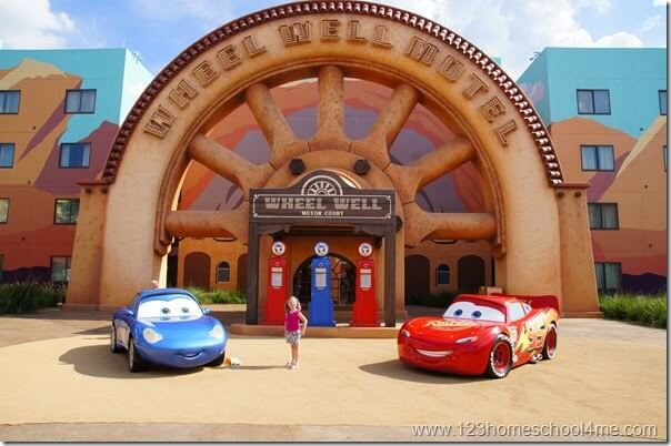 Art of Animation - Disney World Hotels are so much FUN