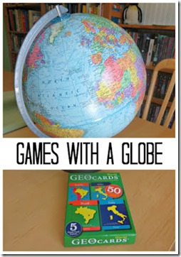 Geography Globe Games