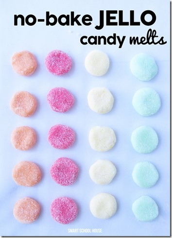 Jello Candy Recipe - This is such a fun recipe to make with kids!