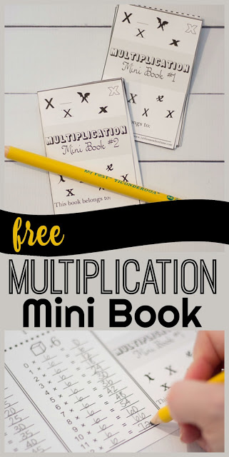 free-multiplication-mini-book