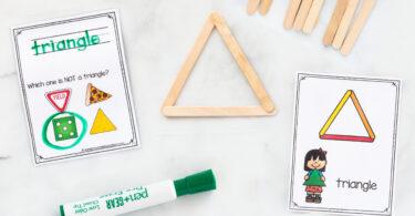 Shapes Activities for Kindergarten