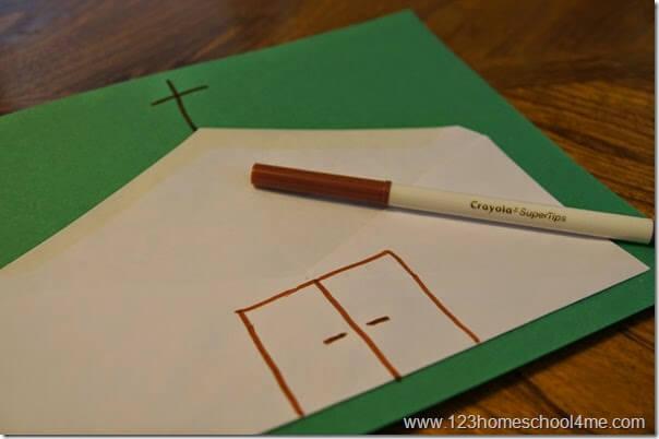 church craft for kids - sunday school