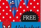 Super Hero Alphabet Pennants