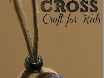 Wordless Book Cross Craft for Kids