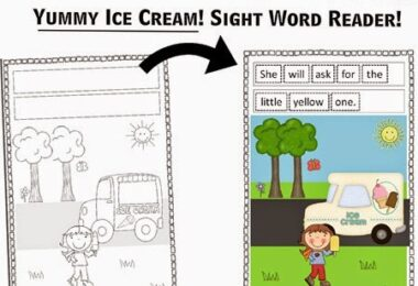Ice Cream Emergent Reader