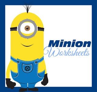 Minion Worksheets for Kids
