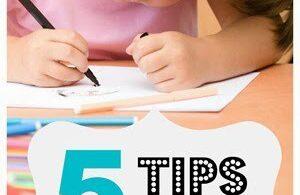 Tips for Homeschooling a Kindergartner