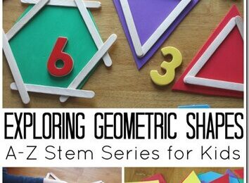 Learning about Shapes Math Activity