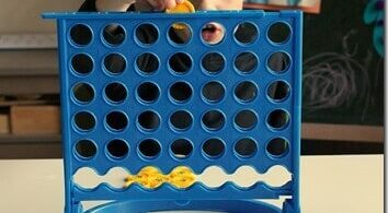 Connect 4 Fraction Game