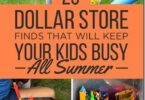 Summer Activities for Kids from the Dollar Store