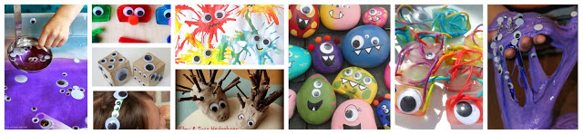 googly eyes crafts and activities
