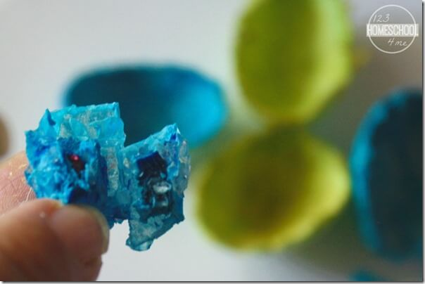 Egg Geodes Science Experiment: Simple Science FUN!