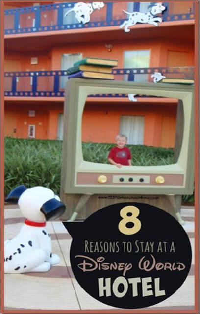 8 reasons to Stay at a Disney World Hotel - Great Disney World Planning tips to help families save money and have a great family vacations. #disney #disneyworld #familyvacation