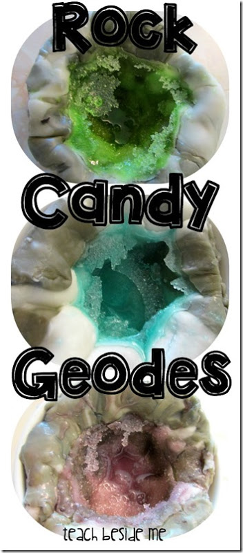 Rock Candy Geodes (Edible Science Experiment) - this is such a fun science project that kids are going to be so impressed with! Preschool, Kindergarten, 1st-5th grade science