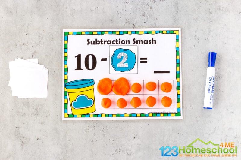 Subtraction Activities for Kids