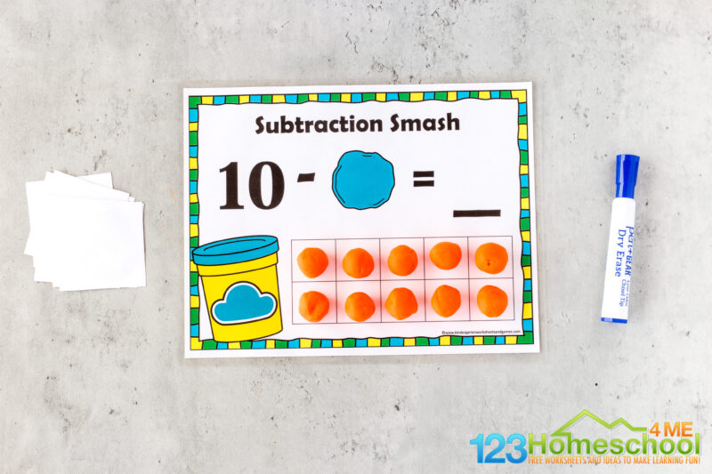 Subtraction games for kids