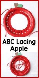 Apple Alphabet Activity
