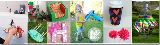 best duct tape crafts and kids activities