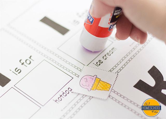 cut and paste preschool worksheets, kindergarten worksheets