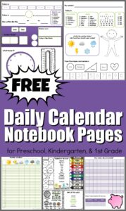daily calendar notebook