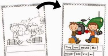 Farm Sight Words Reader