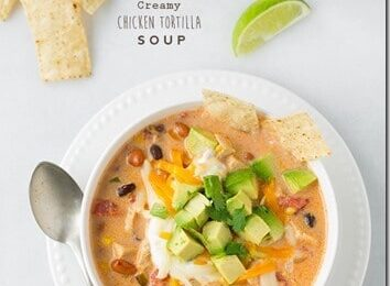 Amazingly Creamy Chicken Tortilla Soup Recipe