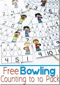Bowling Counting to 10 Pack