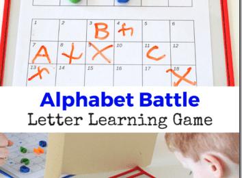 Alphabet Battle Game