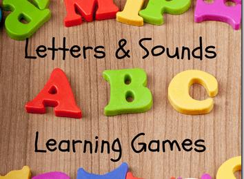 Alphabet Letters & Sounds Games