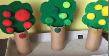 3-in-1 Apple Activities for Preschool