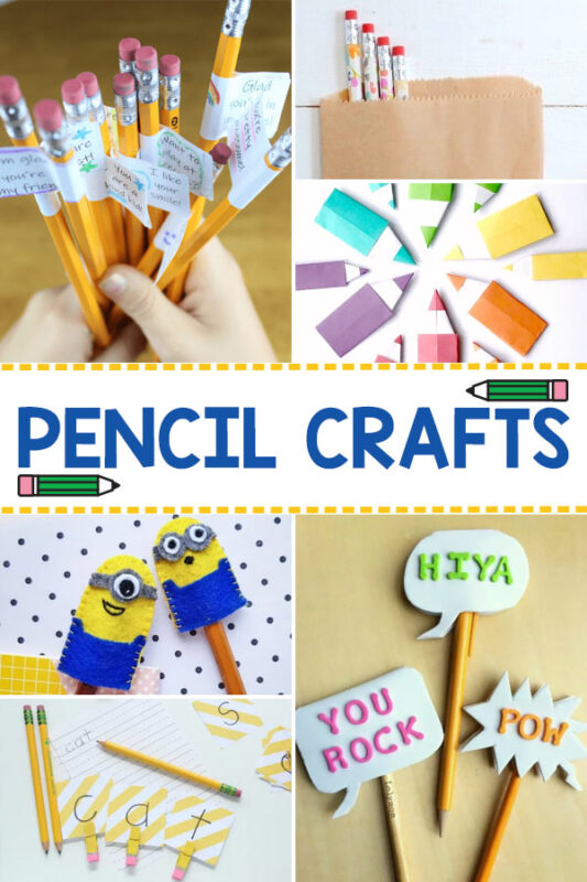 Pencil Crafts for Kids