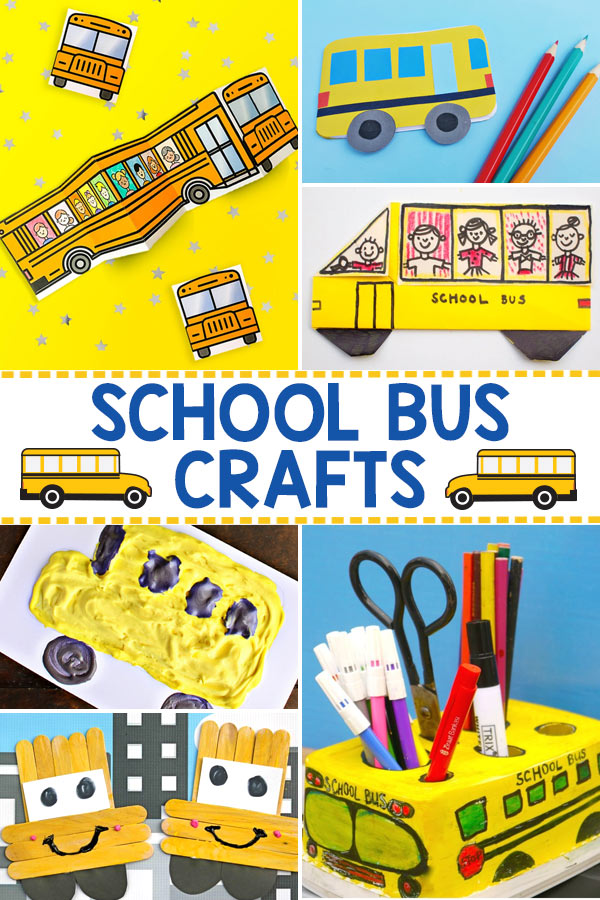 School Bus Crafts for Kids