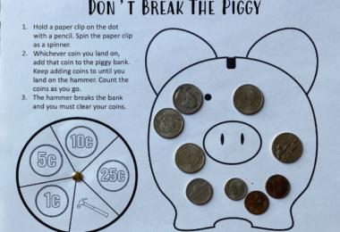Money activities for kids