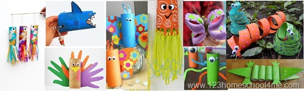 animal toilet paper roll crafts
